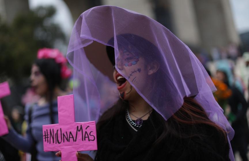 Марш за убиените или исчезнати девојчиња и жени во Мексико