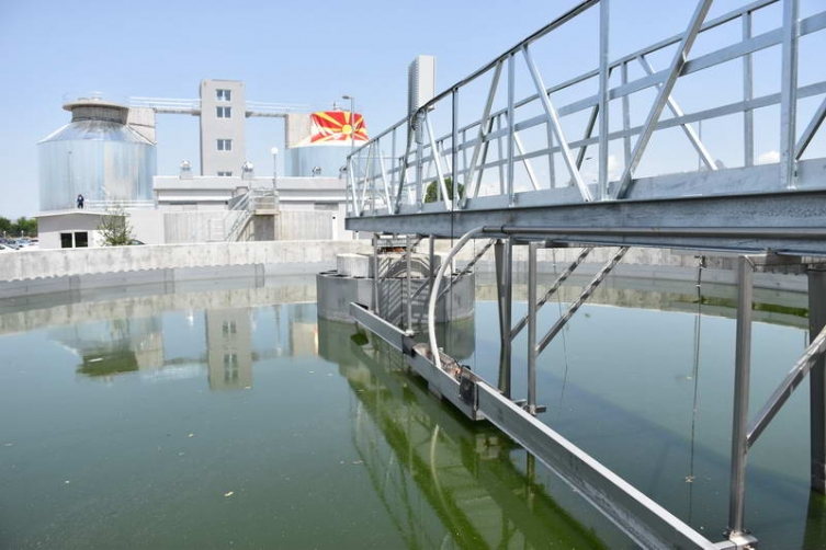 Наредната година ќе започне изградба на пречистителна станица за отпадни води во Скопје