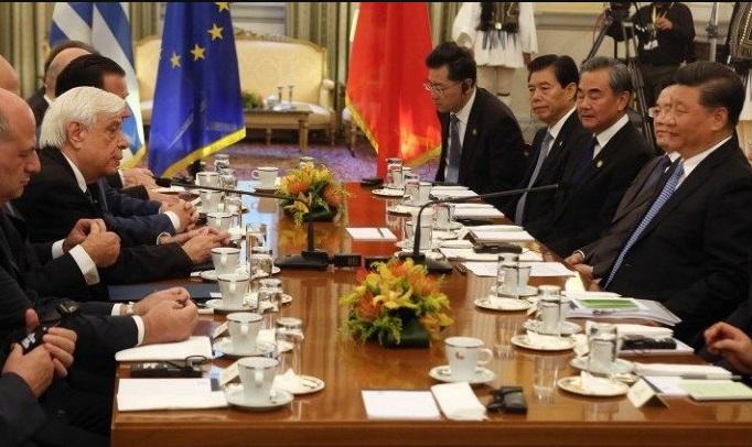 Декларација за зајакнување на стратешката соработка меѓу Грција и Кина