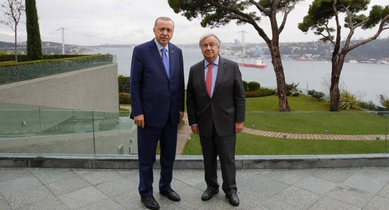 Гутереш: ОН ќе го разгледа планот на Ердоган за сириските бегалци