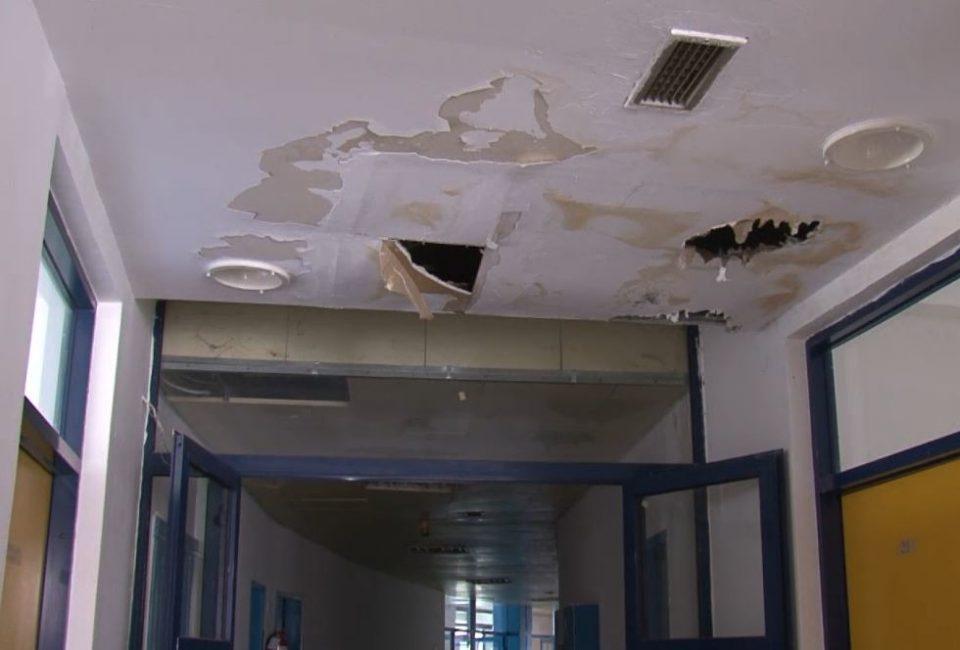 Дијализа во Струга се распаѓа: Затворени девет соби – покривот прокиснува