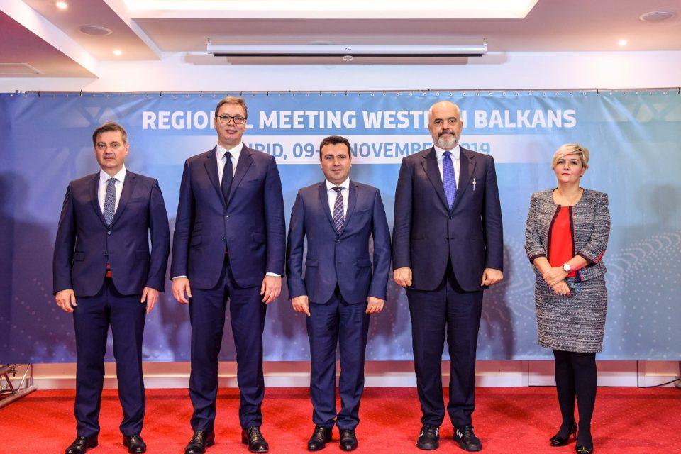 (ВО ЖИВО) Прес-конференција на лидерите на Западен Балкан од Охрид