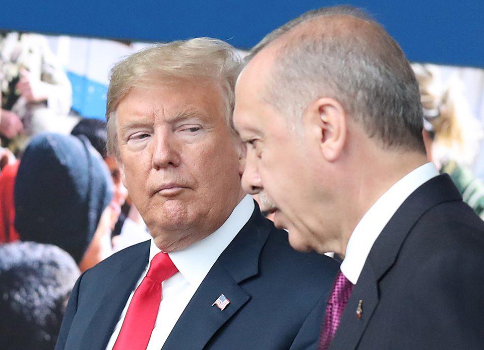 Ердоган лично му го вратил писмото на Трамп