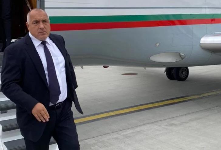 Детали за инцидентот со авионот во кој летал бугарскиот премиер Борисов