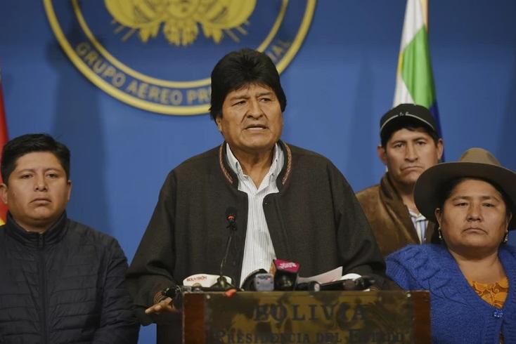 Моралес: Би сакал да се вратам во Боливија