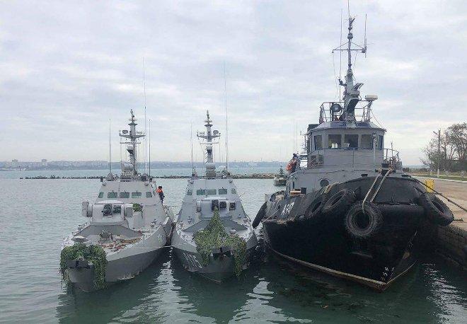 Русија во скоро време ќе и ги врати запленетите бродови на Украина