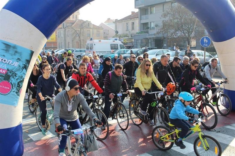 """Утре изменет сообраќаен режим поради """"Скопје на точак 2019″"""