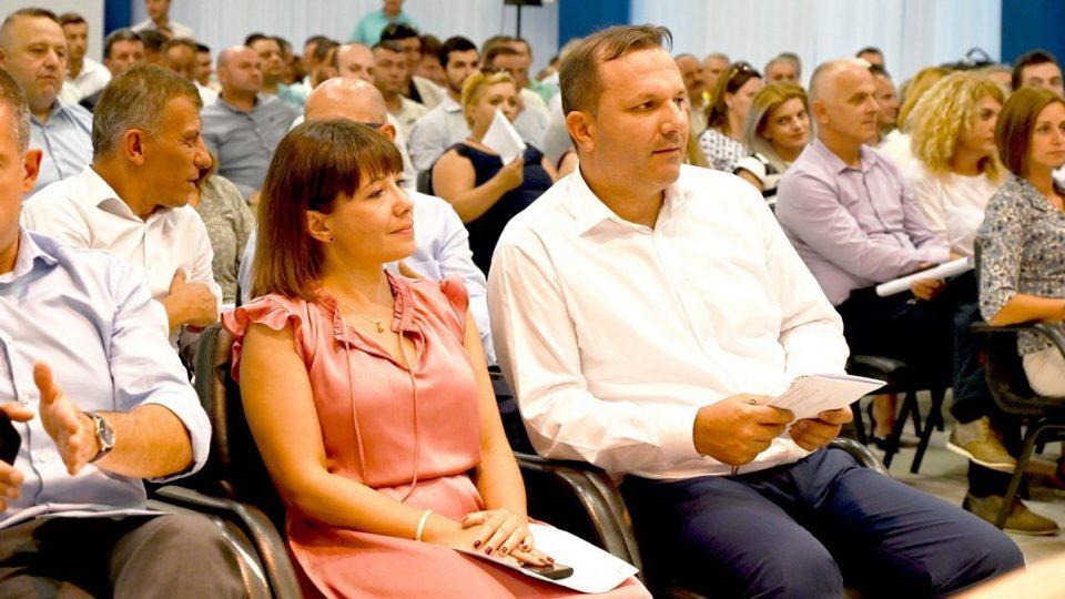 Спасовски и Царовска во инспекција на ТИРЗ 2 (Бунарџик)