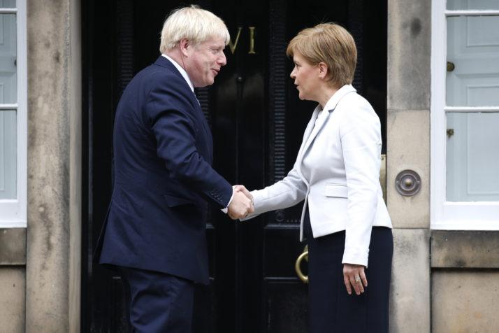 Џонсон: Нема втор референдум за независност на Шкотска