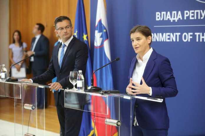 Заедничка седница на владите на Србија и Словенија во Нови Сад