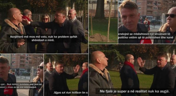 (ВИДЕО) Дрзок и безобразен однос на Шилегов: Никогаш повеќе да не ме гласате