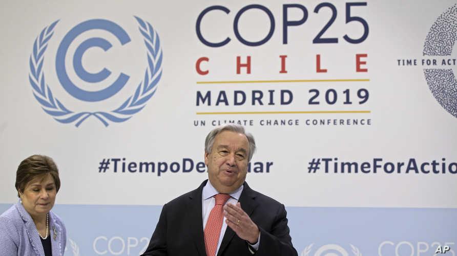 """Светот се приближува до """"точка на не враќање"""" од климатските промени, предупредува Гутереш"""