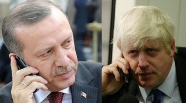 Џонсон и Ердоган телефонски разговарале за Сирија и Либија