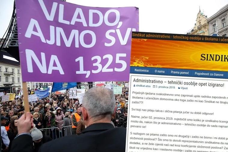Договорот со хрватската Влада прифатлив само за наставниот персонал – повторно ќе има штрајк!?