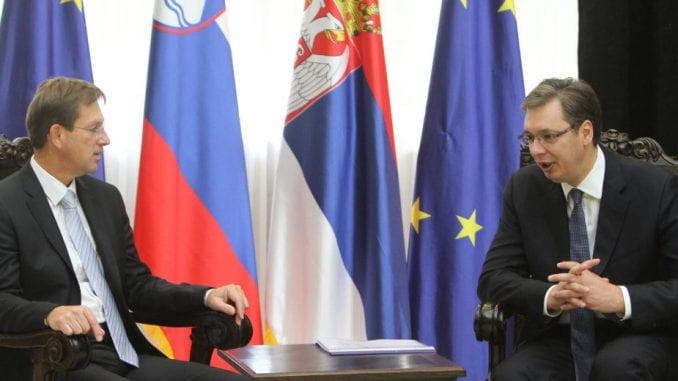 Средба Вучиќ-Церар: Србија и Словенија се за европска перспектива на Западен Балкан