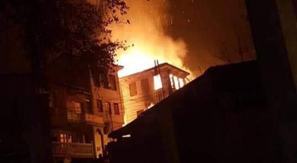 Телото на старецот кој изгоре во куќа во Велес се уште не е пронајдено