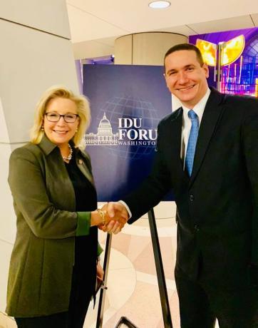 Ѓорчев во САД, се сретна со конгресменката Лиз Чејни