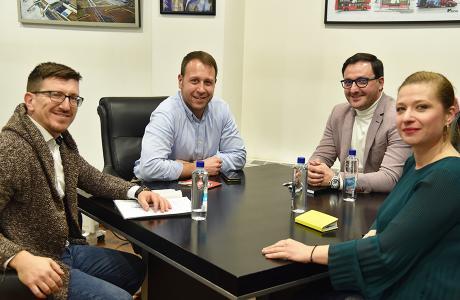 Претставници на ВМРО-ДПМНЕ остварија средба со претседателот на Асоцијацијата на проект менаџери