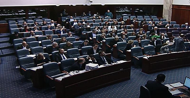 Собранието продолжи со работа: На дневен ред 4 точки, меѓу кои и разрешувањето на Мизрахи