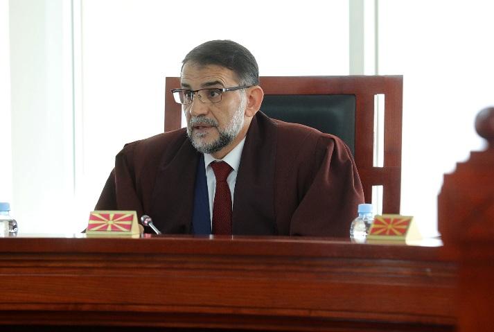 Уставниот судија Мурати: Неопходно е унапредување на статусот на уставните судии за нивна целосна самостојност и независност