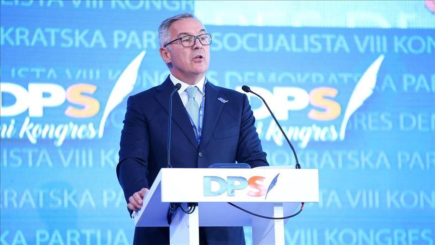 Ѓукановиќ старо нов лидер на црногорската владеачка Демократска партија на социјалистите
