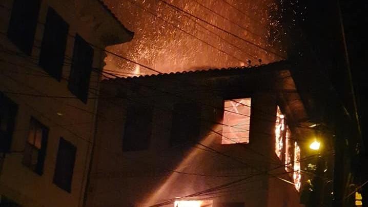 Велешанец загина во пожарот кој избувна во Јадрото на Варналиите