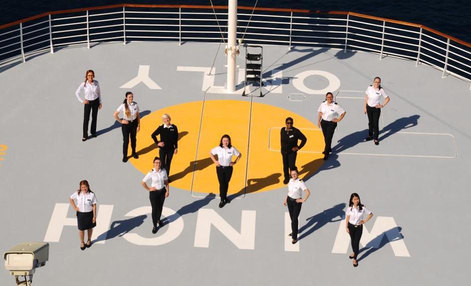 Прво крстосување со брод на кое ќе присуствуваат само жени