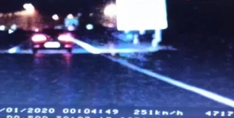 Македонски државјанин во автомобил со швајцарски таблички возел 251 км/ч на автопат во Хрватска