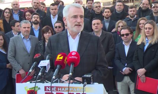 """""""Преку врата доаѓа лето""""-мото на Демократската партија на Албанците за изборите"""