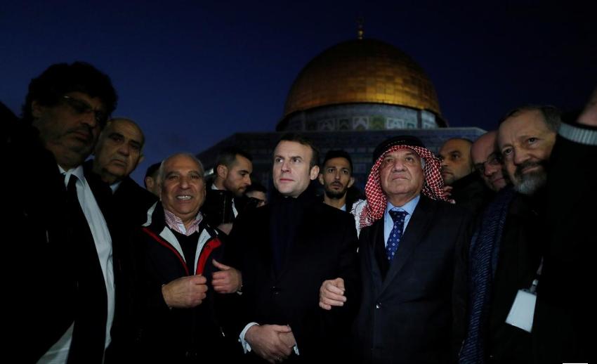 Макрон: Одлучно против омразата и нетолеранцијата на антисемитизмот