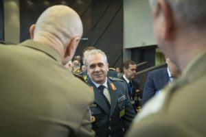Генерал Ѓурчиновски на заседание на Воениот комитет на НАТО