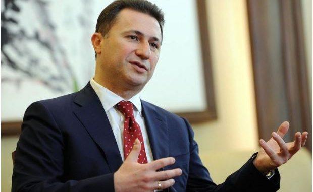 """Груевски: Денко Малески од секогаш бил """"јастребот"""" на отстапките на левицата"""