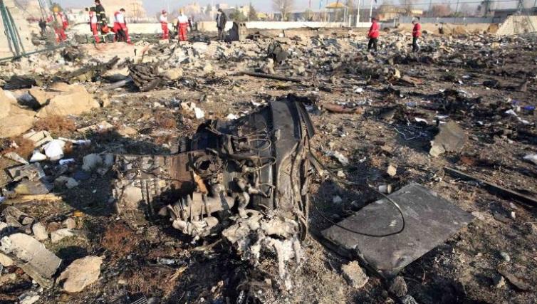Иран демантира дека украинскиот авион бил погоден со ракета