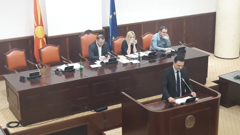 Климовски: Се прави обид за кршење на Уставот со Законот за ЈО