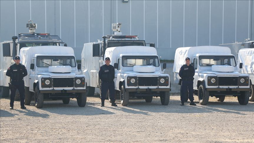 Турција донираше оклопни возила и опрема за албанската полиција