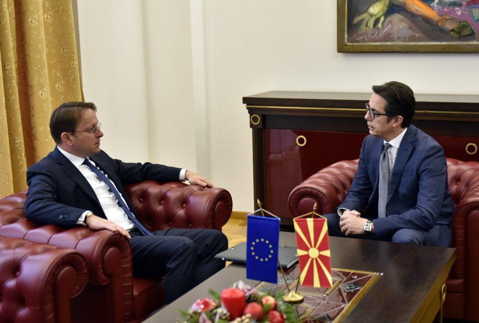 Пендаровски – Вархеји: Европската и евроатлантската интеграција останува стратешка цел на земјава