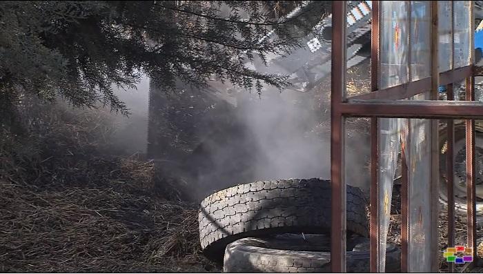 (ВИДЕО) Пожар во Драчево: Учениците ги спасуваа животните