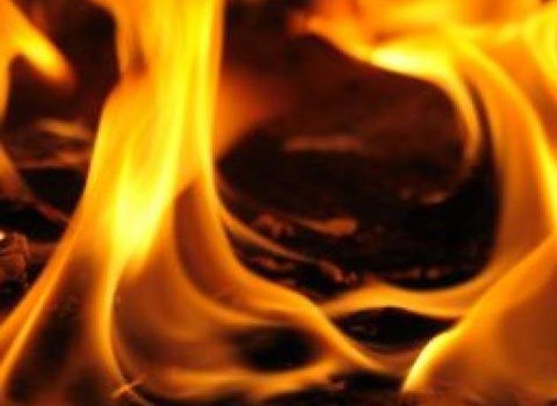 Пожар во средно училиште во Драчево