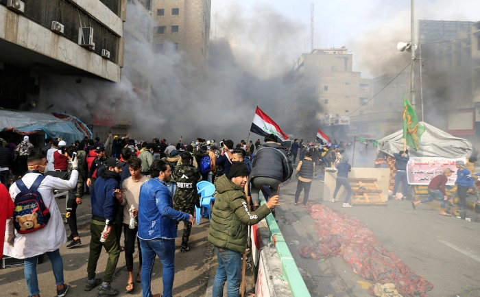 Ракетирана американската армија во Багдад