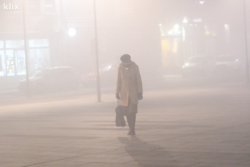 Повеќе од 3000 луѓе умираат годишно од загаден воздух во БиХ