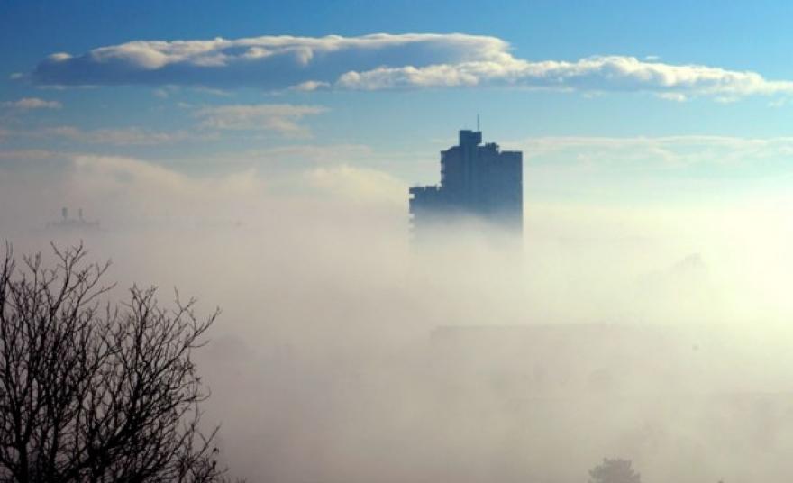 Алармантно ниво на загаденост и вечерва низ градовите