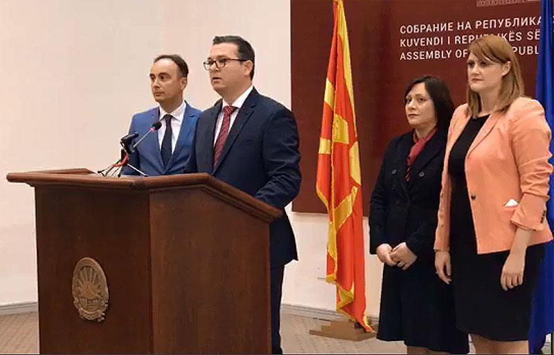 Трипуновски: Од денеска влегуваме во институциите, по 12 април доаѓа вистинската обнова на земјата