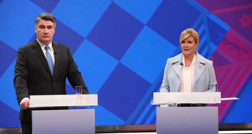 Мртва трка меѓу Китаровиќ и Милановиќ пред утрешниот втор круг од претседателските избори