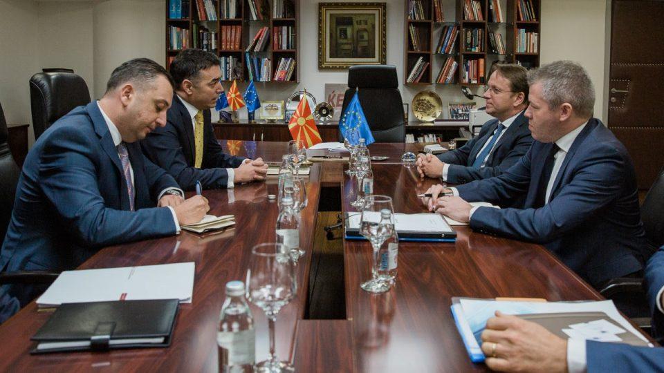 Димитров до Вархеји: Северна Македонија не бега од задачи