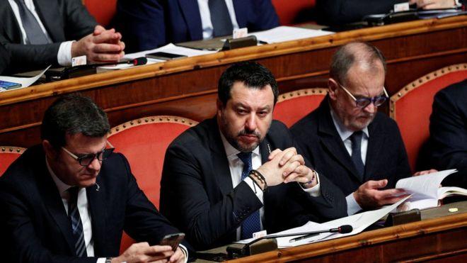 Италијанскиот сенат денеска одлучува дали ќе му се суди на Салвини