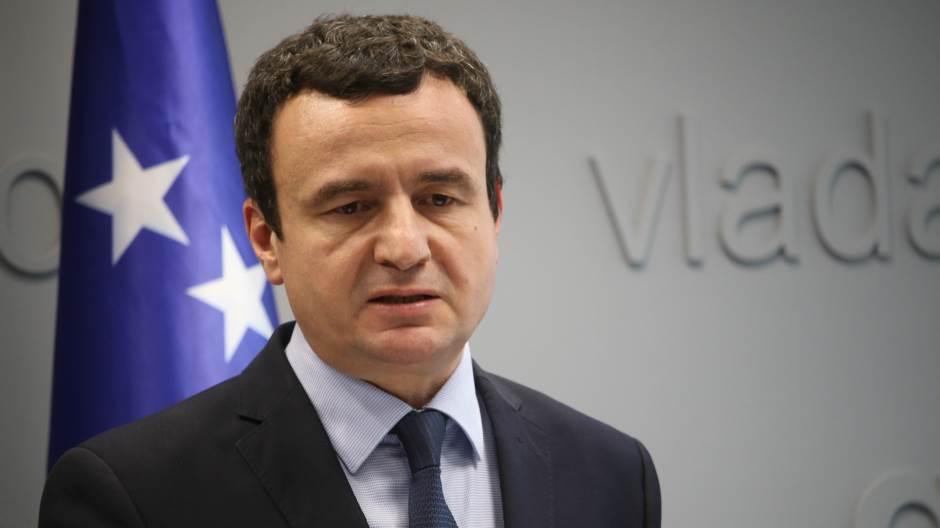 Косовскиот премиер Курти ги обвини САД дека му ја урнале владата