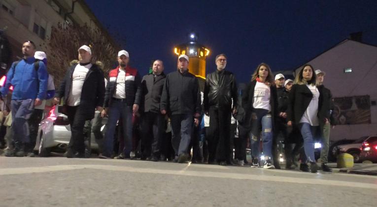 Заврши маршот за загинатите во сообраќајната несреќа кај Ласкaрци
