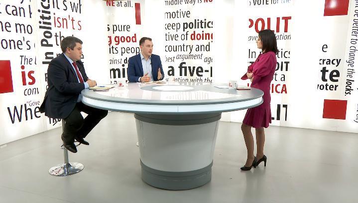 """Андоновски: СДСМ прави """"баук"""" дека ВМРО е антиалбанска партија"""