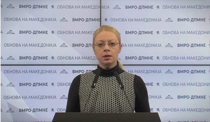 Андоновска: Мора да има одговорност од Шилегов и Филипче за хоророт во Дрисла