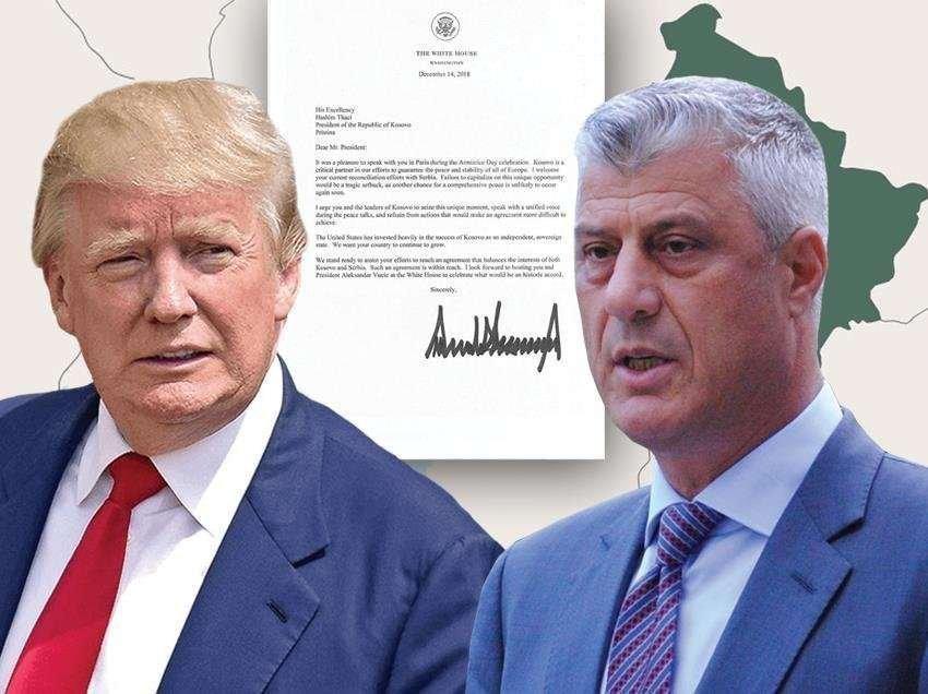 Тачи објави телеграма од Трамп: Косово има светла иднина